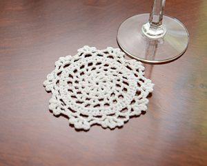 "crochet round doily, crochet round doily 4x4"""