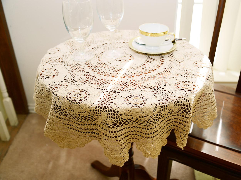 old fashioned granny design crochet toppewr