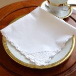 Crochet Napkin White